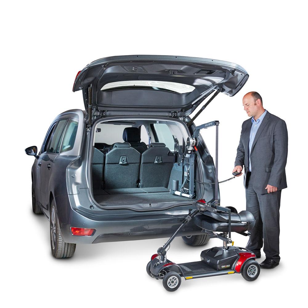 Autochair Mini Hoist Scooter & Wheelchair Lift | Bainbridge Mobility Ltd