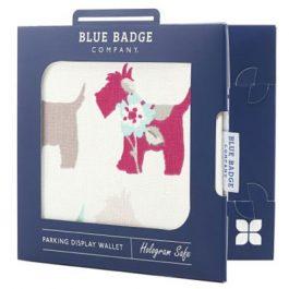 Scotties Blue Badge Holder