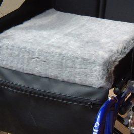 Drive fleece wheelchair cushion