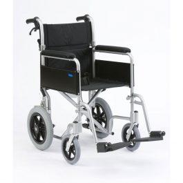 Enigma lightweight aluminium transit wheelchair