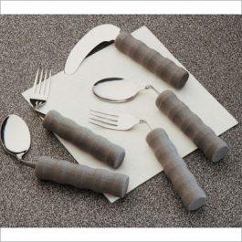 Foam angled cutlery