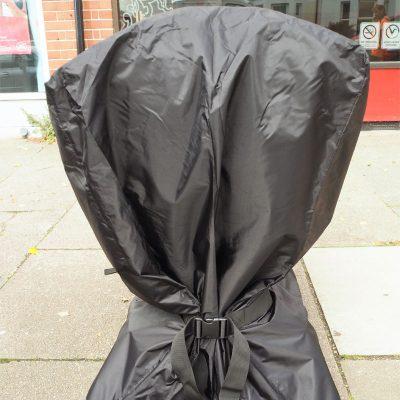 Heavy duty storage cover back