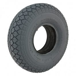 Mobility scooter tyre 400 x 5 grey block