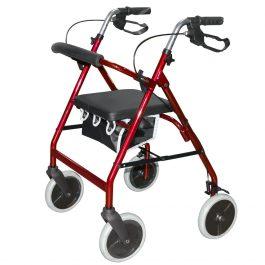 Roma lightweight 4 wheel rollator