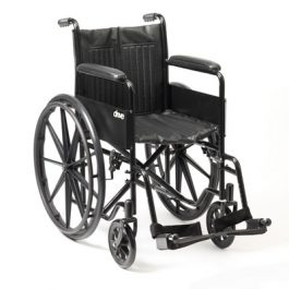 Drive s1 steel self propel wheelchair