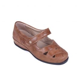 Sandpiper welland extra wide shoe tan