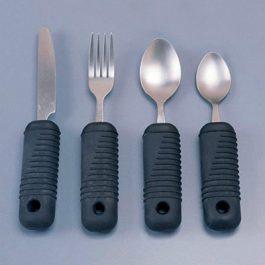 Sure grip cutlery
