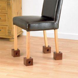 Homecraft wooden chair raisers