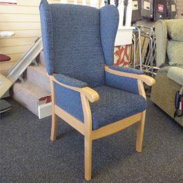 Aj way lundy high back chair